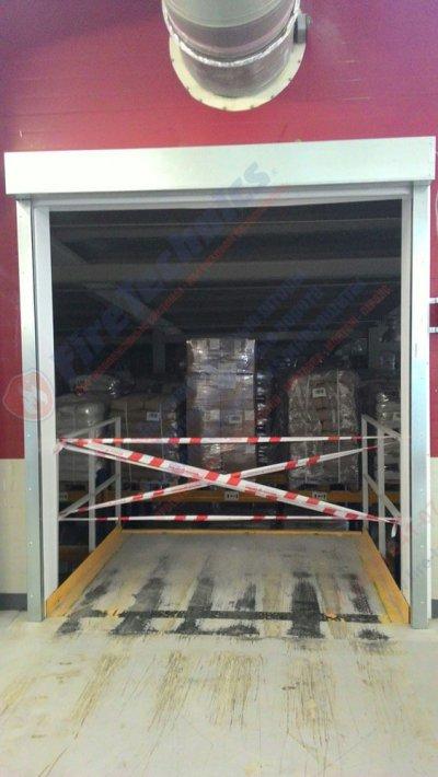 Противопожарные шторы EI60; EI90; EI120 (без орошения)
